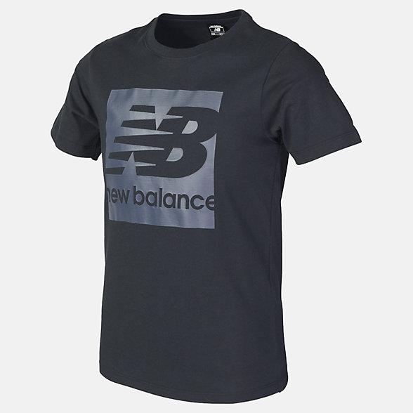 New Balance Boys Core NB Block Tee, ABT81506BK
