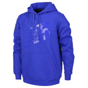 New Balance Boys Fleece Hoodie, Team Royal