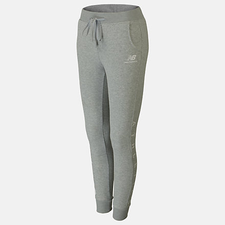 New Balance Girls Essentials Icon Sweat Pant, AGP01506AG image number null