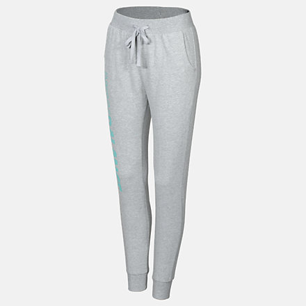 New Balance Girls Speed Sweatpant, AGP03506AG image number null
