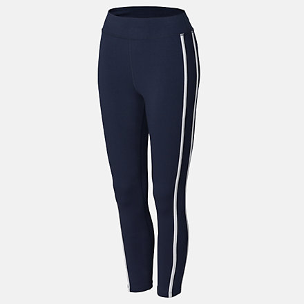 New Balance Girls Speed Piped Legging, AGP03507ECL image number null