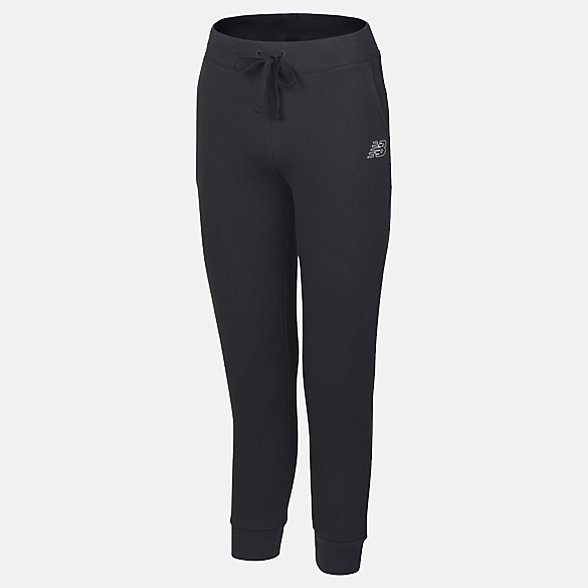 New Balance Girls Core Trackpant, AGP81501BK