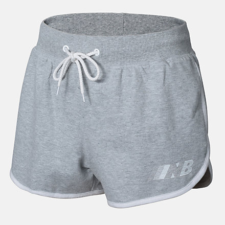 New Balance Girls Essentials Speed Short, AGS03504AG image number null