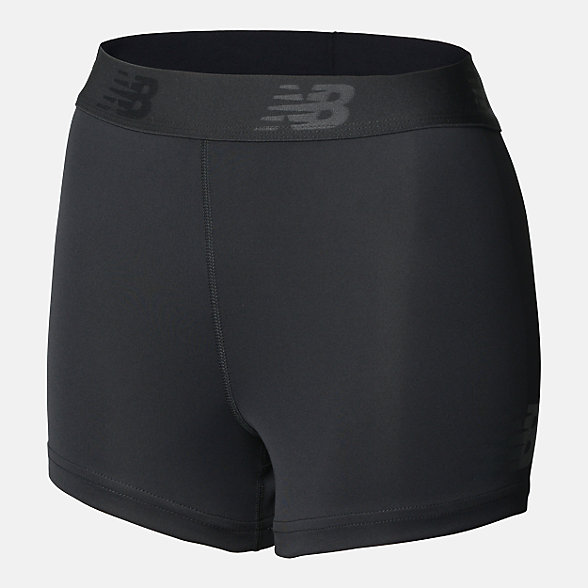 New Balance Girls Training Boy Short, AGS93502BK