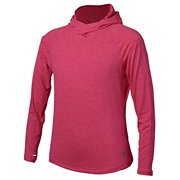 46974db20800d New Balance Girls In Transit Hoodie, Pomegranate Heather