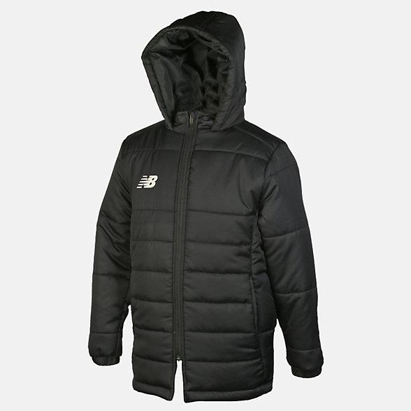 New Balance Teamwear Jacket, EJJ6116BK