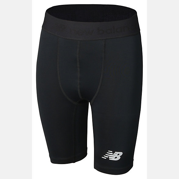 New Balance Teamwear Junior Compression Short, EJS7004BK