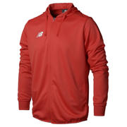 New Balance Teamwear Training Hoodie - Full Zip, High Risk Red
