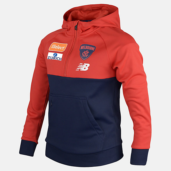 New Balance MFC Junior Tech Fleece Hoodie, MFJT7313BL