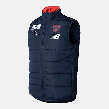 New Balance MFC PUFFA VEST, MFMJ0197BL image number null