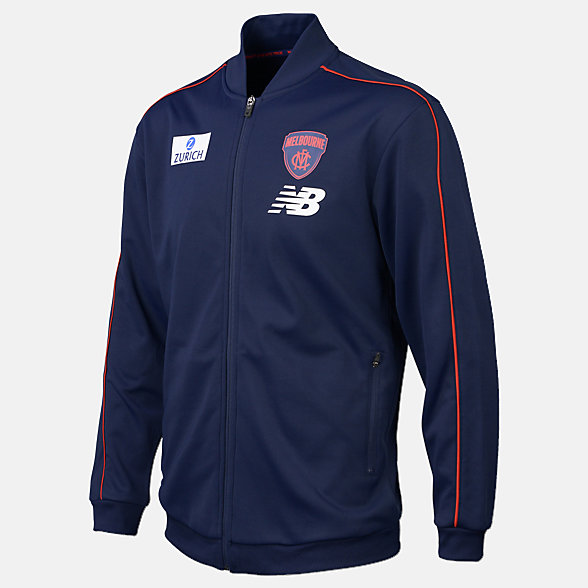 New Balance 2019 MFC Team Track Jacket, MFMJ9116BL