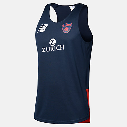 New Balance MFC Training Singlet, MFMT0112BL image number null