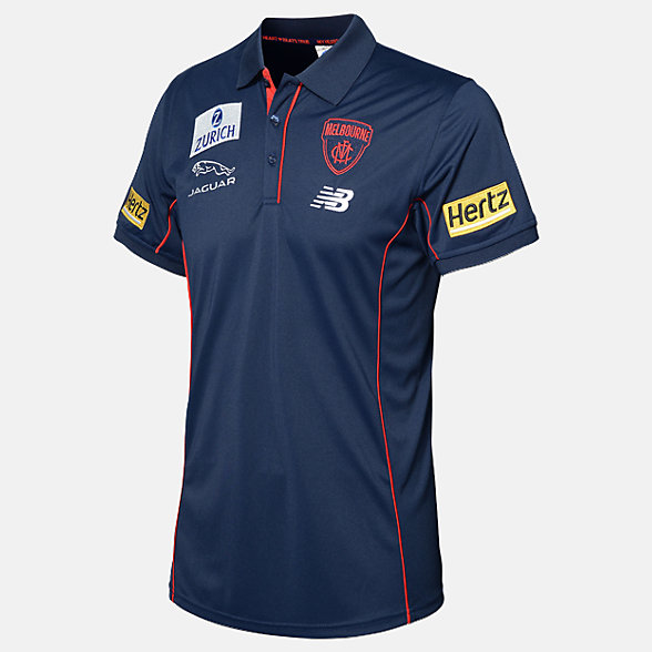 New Balance MFC Media Polo, MFMT0113BL
