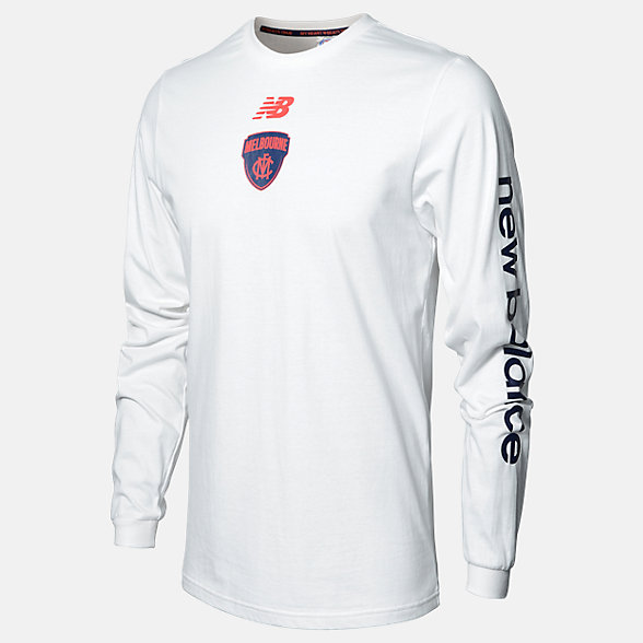 New Balance MFC Long Sleeve Tee, MFMT0140WT