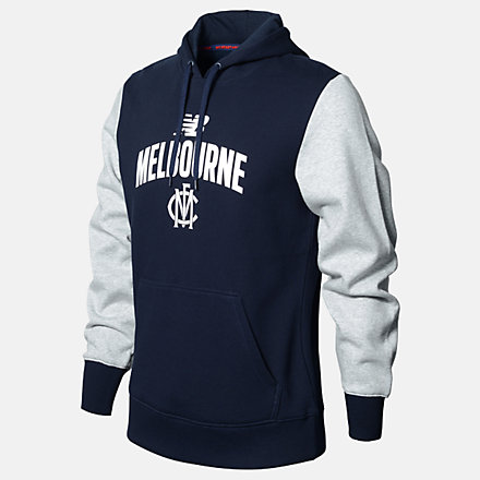 New Balance MFC Po Hoodie, MFMT0143BL image number null
