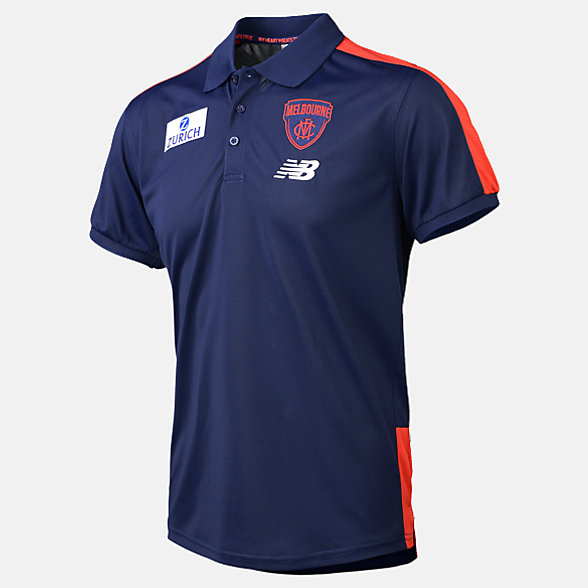 New Balance 2019 MFC Media Polo, MFMT9115BL