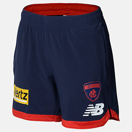 New Balance MFC Womens Travel Short, MFWS0114BL image number null