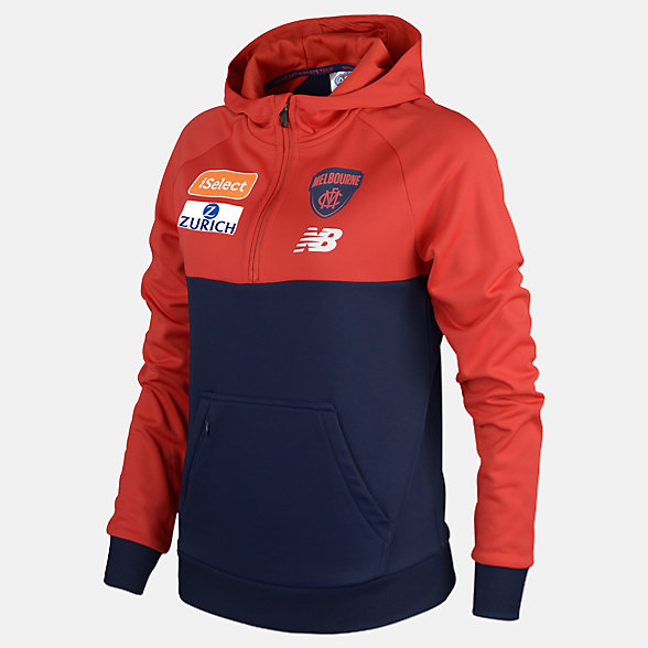 New Balance MFC Womens Tech Fleece Hoodie, MFWT7313BL