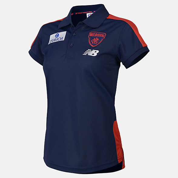New Balance 2019 MFC Media Polo, MFWT9115BL
