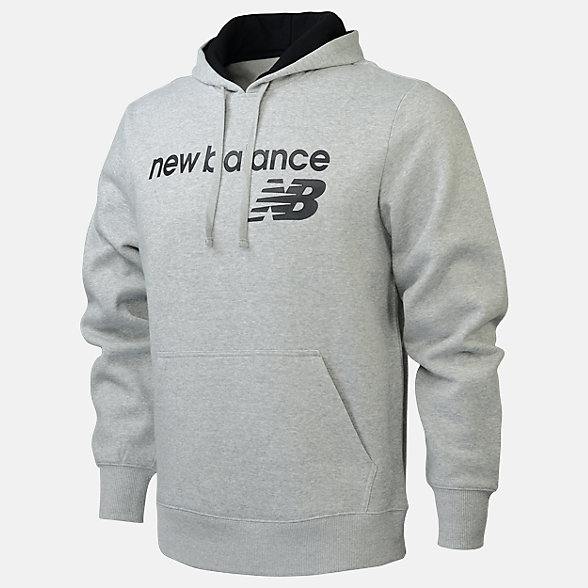 New Balance Fleece Hoodie, RMT0129AG