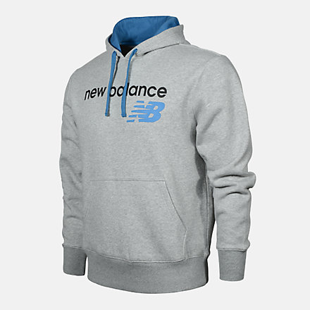 New Balance Men's Pullover Hoodie, RMT0224AG image number null