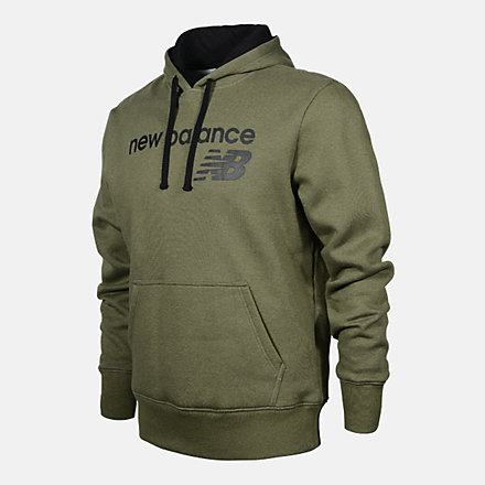 New Balance Men's Pullover Hoodie, RMT0224OLG image number null