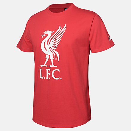 New Balance LFC Logo Short Sleeve Tee, RMT9300REP image number null