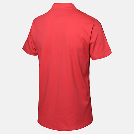 New Balance LFC Logo Short Sleeve Polo, RMT9301REP image number null