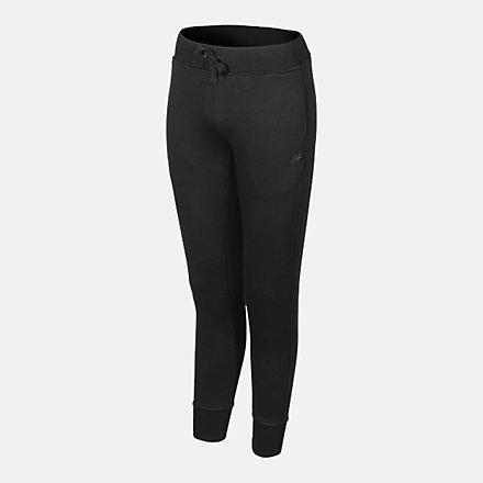 New Balance Women's Slim Leg Pant, RWP0223BK image number null