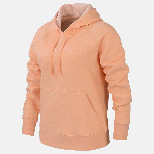 New Balance Fleece Hoodie, RWT0125GPK