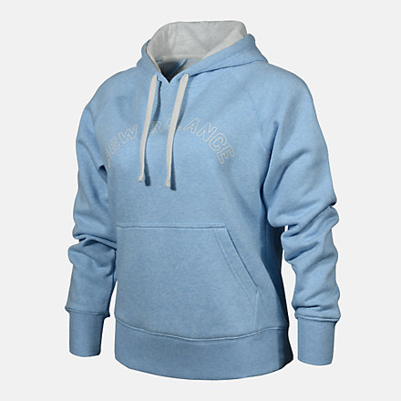 New Balance WOMENS PO HOODIE, RWT0220UVG image number null