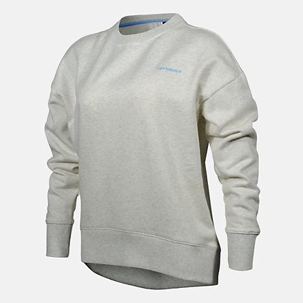 New Balance WOMENS CREW, RWT0222SST image number null