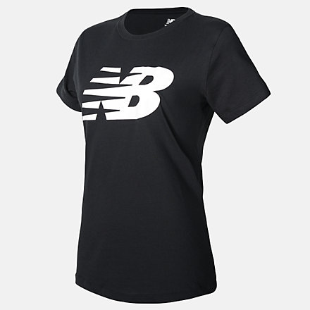 New Balance NB Classic Flying NB Graphic Tee, WT03816BK image number null