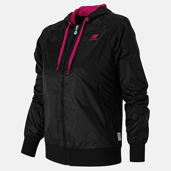 New Balance NB78 Jacket, AWLJ5133BK