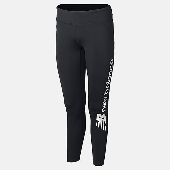 New Balance New Race Graphic Tight, AWP61364BK