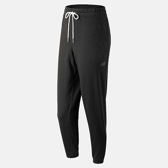 New Balance 女款速干針織長褲, AWP91158BK