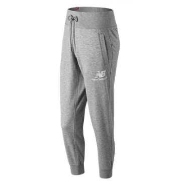 New Balance 女款束腰针织休闲长裤, AG