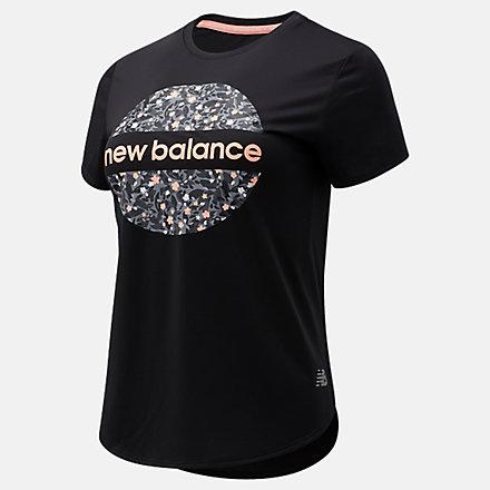 New Balance Sakura Accelerate Short Sleeve, AWT1106YBK image number null
