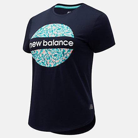 New Balance Sakura Accelerate Short Sleeve, AWT1106YECL image number null