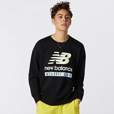 New Balance NB Essentials Field Day Fleece 衛衣, AWT11506BK image number null