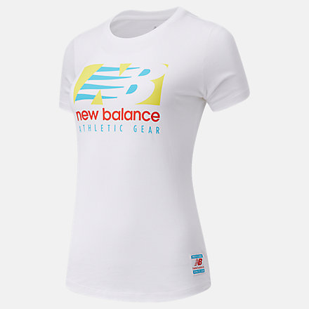 New Balance NB Essentials Field Day Tee, AWT11507WT image number null
