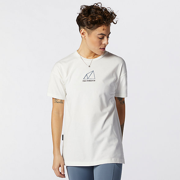 New Balance All Terrain系列女款短袖T恤, AWT11593WTH