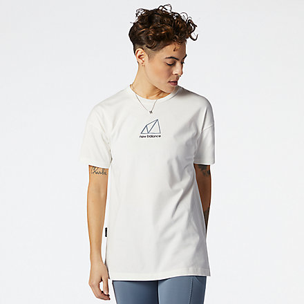 New Balance NB All Terrain Tee, AWT11593WTH image number null