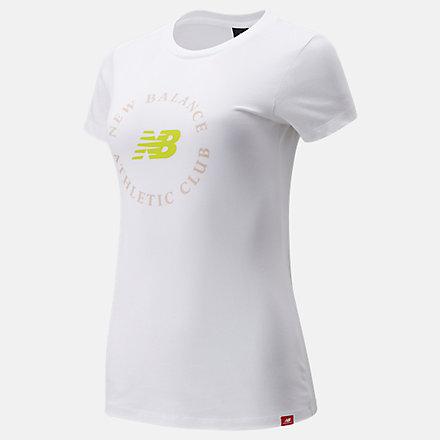 New Balance NB Essentials Athletic Club圖案T恤, AWT13507WT image number null