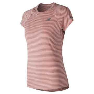 New Balance 女子运动T恤 吸湿排汗 质地舒爽, DTP