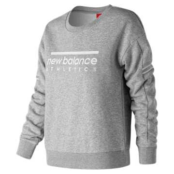 New Balance 女款套头卫衣 舒适面料  , AG