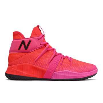 New Balance OMN1S系列男款籃球運動鞋, 玫紅/紅色
