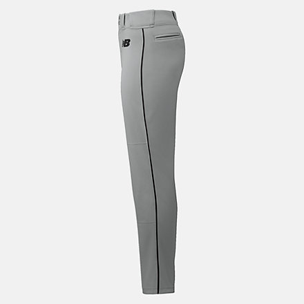 New Balance Essential Baseball Piped Pant, BBP016GBK image number null