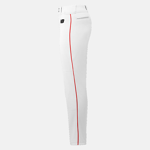 New Balance Essential Baseball Piped Pant, BBP016WRD