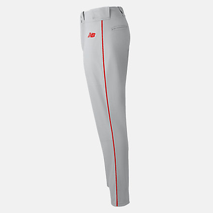 New Balance Charge Baseball Piped Pant, BBP116GRD image number null